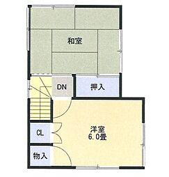 [一戸建] 神奈川県相模原市緑区中野 の賃貸【神奈川県 / 相模原市緑区】の間取り