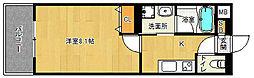 「ベラジオ京都西院ウエストシティ」[1階]の間取り