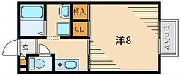 サンモールC棟[2階]の間取り