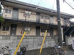 クローバーハウスC[1階]の外観
