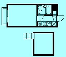新城QSハイム[2階]の間取り