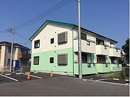 神奈川県伊勢原市高森5丁目の賃貸アパートの外観