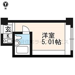 ANTEROOM KYOTO[532号室]の間取り