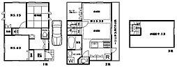 [一戸建] 東京都杉並区阿佐谷北3丁目 の賃貸【/】の間取り