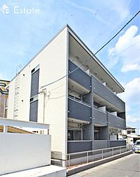 愛知県名古屋市緑区大高町字東正地の賃貸アパートの外観
