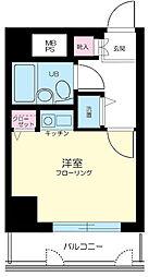 東京都大田区千鳥3丁目の賃貸マンションの間取り