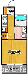フェルト 627[2階]の間取り
