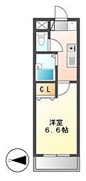 サンガーデン ムゲンダイ[2階]の間取り