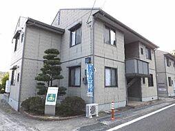 岡山県岡山市北区首部の賃貸アパートの外観