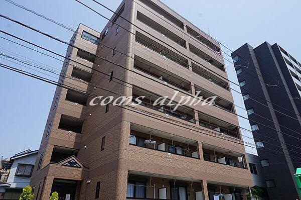 コンフォール神奈川[603号室]の外観