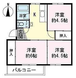 イシワタ第2ビル[0101号室]の間取り