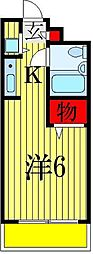 アピス東船橋[1階]の間取り