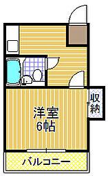 NAGIハイム[3階]の間取り