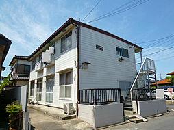 埼玉県北本市西高尾8丁目の賃貸アパートの外観