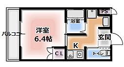 Cottage DainichiI[3階]の間取り