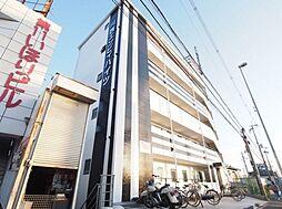 大阪府高槻市川西町2丁目の賃貸マンションの外観