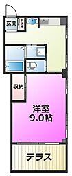 東京都足立区鹿浜3丁目の賃貸マンションの間取り