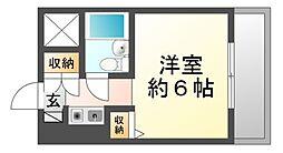 猪名寺パークマンションI[2階]の間取り