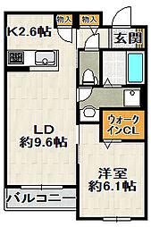 (仮)SHM伊丹鴻池II[203号室]の間取り