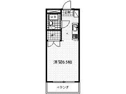 リバーサイド三田2[2階]の間取り