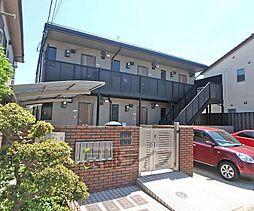 京都府京都市西京区川島有栖川町の賃貸アパートの外観