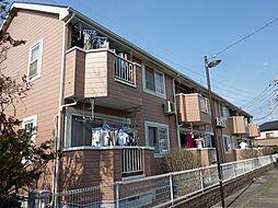 埼玉県草加市青柳7丁目の賃貸アパートの外観