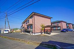 岡山県岡山市東区東平島の賃貸アパートの外観