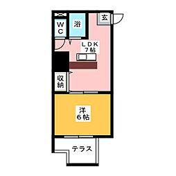 K・Point Bldg[3階]の間取り