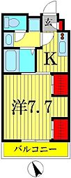 埼玉県八潮市大字垳の賃貸マンションの間取り