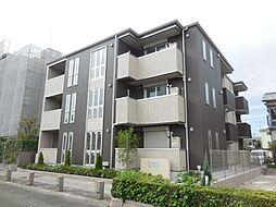 兵庫県尼崎市南武庫之荘2丁目の賃貸アパートの外観