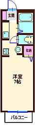 パークヒル神大寺II[1階]の間取り