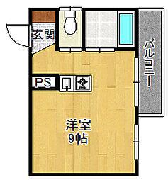 エトール6[3階]の間取り