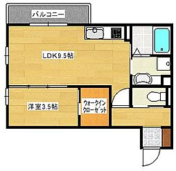(仮)D-room西原1丁目[1階]の間取り