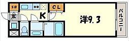コモダカッサ[2階]の間取り