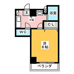 アーバンコート小松[4階]の間取り