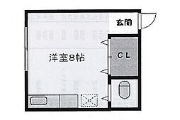第二篠原荘[2階]の間取り