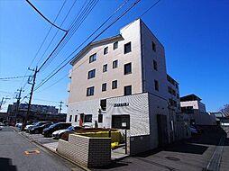 栃木県宇都宮市桜5丁目の賃貸マンションの外観
