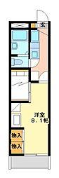 兵庫県相生市双葉3の賃貸アパートの間取り