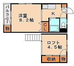 FUTEC-II[1階]の間取り