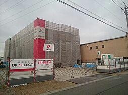愛知県一宮市大和町妙興寺字坊ケ池の賃貸アパートの外観