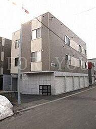 北海道札幌市白石区本通16丁目北の賃貸アパートの外観