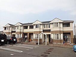愛知県一宮市木曽川町里小牧字下町場の賃貸アパートの外観