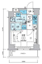 リヴシティ横濱インサイト[3階]の間取り
