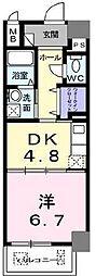 グランブルIII[6階]の間取り