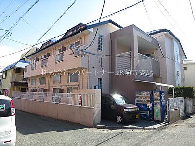 外観,1K,面積17.98m2,賃料2.8万円,,,熊本県熊本市中央区帯山3丁目52-21