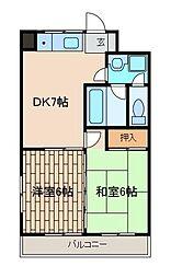 エルム1番館[5階]の間取り