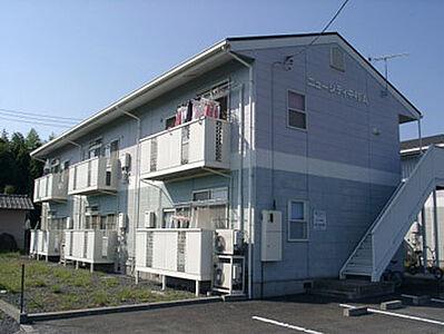 外観,2DK,面積40.58m2,賃料4.3万円,JR常磐線 赤塚駅 3.6km,,茨城県水戸市見川