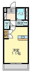 サンラビール小倉[3階]の間取り