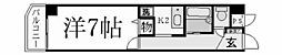 兵庫県西宮市石刎町の賃貸マンションの間取り