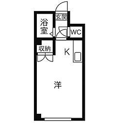 ハッピーシンドローム[2階]の間取り